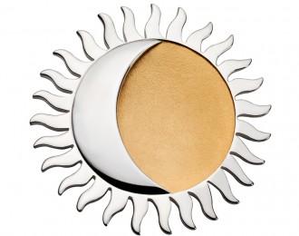 Sonne und Mond-Frequenz auf Anhänger